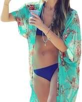 MiYang Womens Chiffon Swimwear Cover-ups Bikini Swim Beach Wear Cover Up