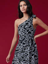 Diane von Furstenberg One Shoulder Knot Dress