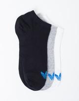 adidas Trefoil Liner Socks 3 Pack
