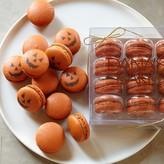 Halloween Jack-O-Lantern Pumpkin Macarons
