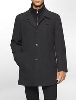 Calvin Klein X Fit Grey Car Coat