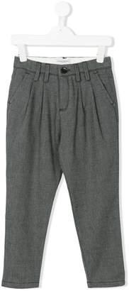 Paolo Pecora Kids smart pleated trousers