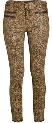 Etienne Marcel Leopard Skinny Jeans