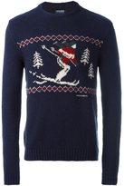 Woolrich ski intarsia sweater