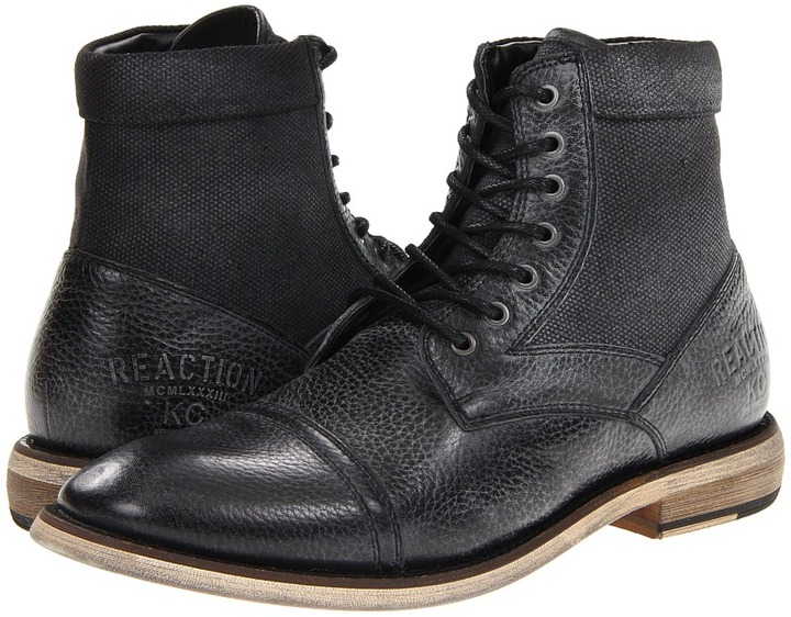 Kenneth Cole Reaction Craft Master Boot (Black) - Footwear