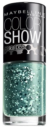 Maybelline Color Show Polka Dots Nail Lacquer Drops Of Jade