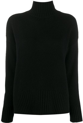 Societe Anonyme Roll Neck Cashmere Jumper