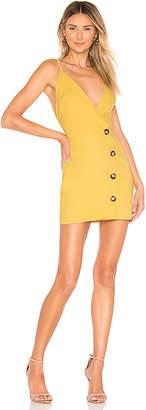 superdown Tawny Wrap Mini Dress