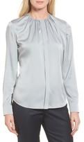 BOSS Women's Banora Stretch Silk Blouse
