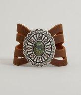 Leather Rock Stone Bracelet