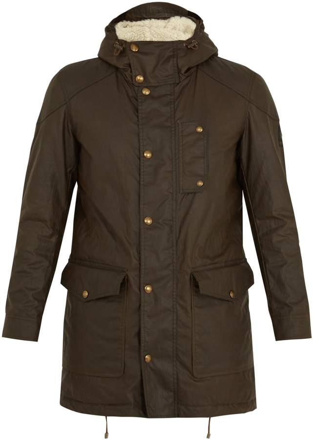 Belstaff Kentchurch waxed-cotton parka