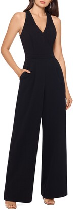 Xscape Evenings Scuba Crepe Jumpsuit