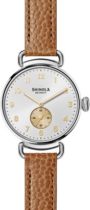 Shinola Women's Canfield Genuine Alligator Leather Strap Watch, 38mm