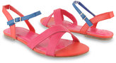 Colorblocked Sandals