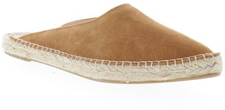 Sbicca Leather Pointed Toe Espadrille Flat Mules - Cienega
