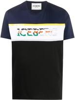 Iceberg contrast panel T-shirt