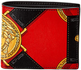 Versace Palazzo Leather Bifold Wallet