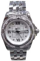 Breitling Galactic A71356 Stainless Steel Diamond Dial & Bezel 32mm Womens Watch