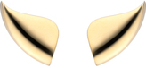 "As 29 AS29 ""Golda (Lobe)"" 18K Yellow Gold Earrings"
