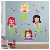 BuySeasons Mermaids Giant Wall Decal