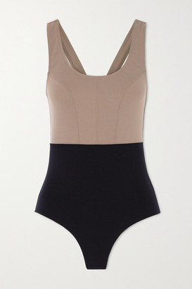 Ernest Leoty Victoire Two-tone Swimsuit