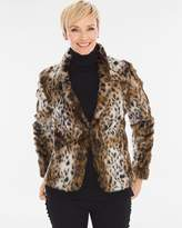 Chico's Animal Faux-Fur Jacket