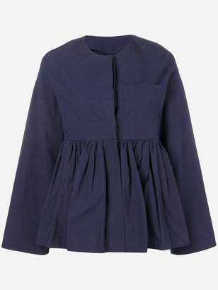 Sara Lanzi fitted peplum jacket