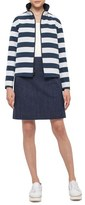 Akris Punto Women's Reversible Stripe Jacket