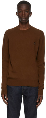 Acne Studios Brown Wool Crewneck Sweater