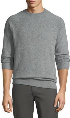 Loro Piana Men's Silverstone Cashmere Raglan Sweater