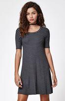 Billabong Lost Heart Stripe T-Shirt Dress