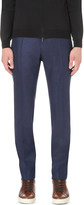 SLOWEAR Slim-fit wool trousers