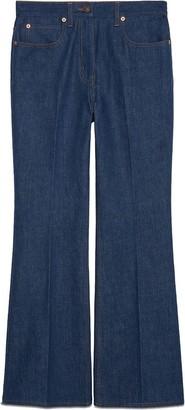 Gucci Apple Patch Jeans