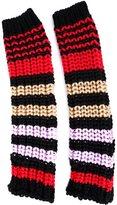 Sonia Rykiel striped knit fingerless gloves
