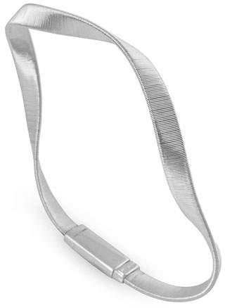 Marco Bicego Marrakech Supreme 18k Twisted Bracelet, White Gold