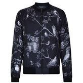 Dolce And Gabbana Owl Print Bomber Jacket