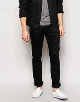 Nudie Jeans Slim Jim Slim Fit Dry Black