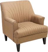 Asstd National Brand Carl Channel-Back Club Chair