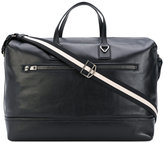 Bally striped handle holdall