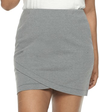 So Juniors' Plus Mini Wrap Skirt