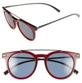 Salvatore Ferragamo Men's 51Mm Sunglasses - Matte Black