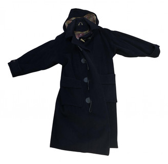 Mulberry Navy Wool Coats