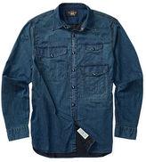 Ralph Lauren RRL Indigo Cotton-Blend Workshirt