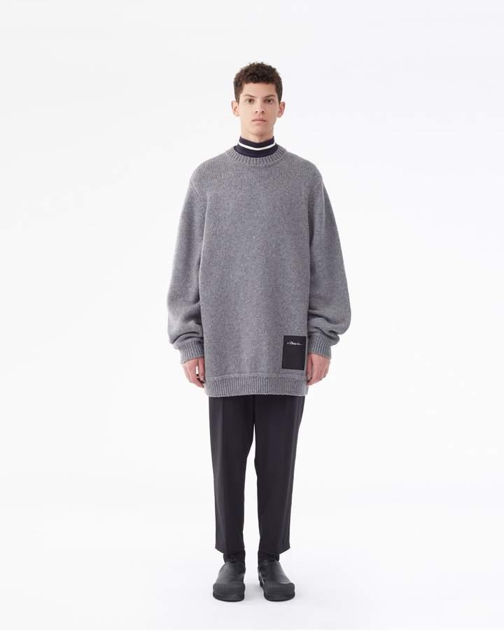 3.1 Phillip Lim Elongated Chunky-Knit Sweater