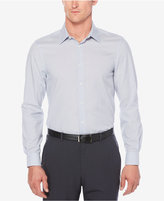 Perry Ellis Men's Heathered Non-Iron Stretch Cotton Shirt