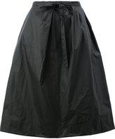 Maison Margiela flared mid-length skirt - women - Cotton/Polyurethane - 38
