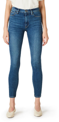 Hudson Barbara High-Waist Super Skinny Jeans