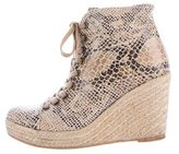 Stella McCartney Canvas Espadrille Booties