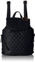 MG Collection Quilted Drawstring Backpack