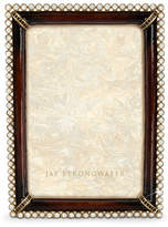 "Jay Strongwater Stone Edge 4"" x 6"" Frame"